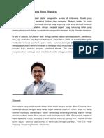 Kisah Perjalanan Bisnis Bong Chandra