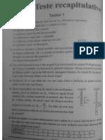 Teste fizica cl VI