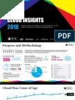 IDG 2018 Cloud Computing Research