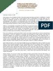 Castificantes Animas Nostras - HOMILIA DO PAPA BENTO XVI