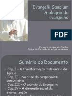 Formação Evangelii Gaudium
