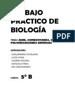 Trabajo Práctico de Biología