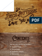 Six Deck Patterns That Will Save You Money