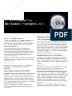 Deloitte Bangladesh Tax Higlight 2017