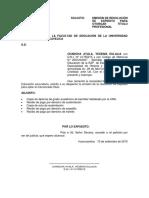 Emisión de Resolución de Expedito Para Otorgar Titulo Profesional