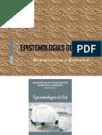 Apresentação Epistemologias Do Sul