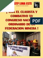 afiche minero