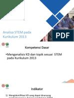 Analisa STEM pada K13.pptx