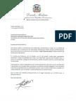 Danilo Medina envía sus condolencias a monseñor Diómedes Espinal de León por fallecimiento de monseñor Fabio Mamerto Rivas