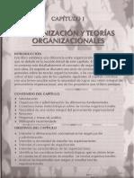 organización y teorías organizacionales