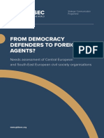 From Democracy Defenders to Foreign Agents?