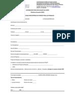 Formulário Autorização Plataforma Sucupira Capes _ 09.02.2015