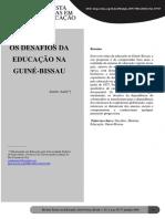 Os Desafios Da Educação Na Guiné-Bissau