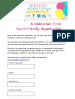 YouthFriendly Organisation Nomination Form 2017 1.docx