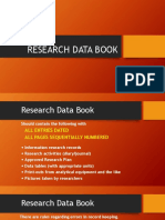 Research Data Book