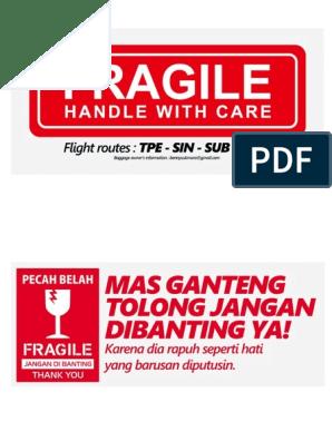 fragile fragile