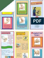 Leaflet Cuci Tangan