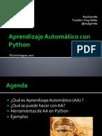 aprendizajeautomaticopython-130826110306-phpapp02