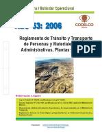 NEO 53-2006 Reglam-Transito CDCh