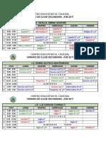 horarios de clases pa