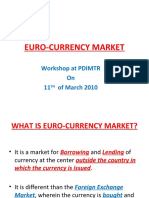 Euro-currency Market Dnc