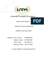 Informe Sistemas de Manufactura-III