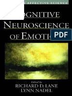 Richard D. Lane - Cognitive Neuroscience of Emotion