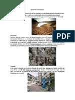 Diez Desastres Naturales