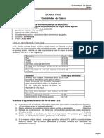 ESAN -Examen Final Contabilidad de Costos