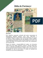 A Bíblia de Furtmeyr