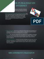 Presentacion Tipos de Publicidad en Internet