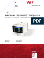 Electronic Fuel Viscosity Controller New Model English Tib 771 Gb 0215