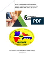 Acuerdo Idecoop - Cadel, Inc.