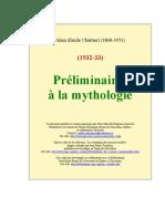 Alain - ire a La Mythologie