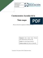 Didáctica Proyecto Leyendas de La Ñuke Mapu