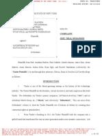Tinder Founder lawsuit