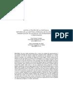 Alicia a Traves de La Pantalla Estudio de La Lectura Literaria en El Siglo Xxi Presentacion de Modelos de Experimentacion y Resultados