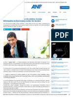 Óscar Ordóñez reivindica a la crónica
