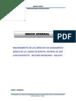 Indice Corregido