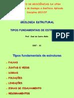 Geologia Estrutural - Falhas