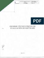 Informe Tecnico Evaluacion Software Herramientas de Desarrollo