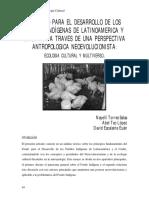Torres, Tec y Escalante(2010) El Fondo Para El Desarrollo de Los Pueblos Indígenas de AL y El Caribe