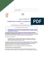 Complicaciones Cerebrales de La Hipertension Arterial