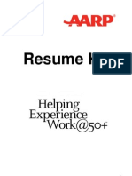 Job Hunt AARP Over 50 Resume Kit
