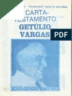 Cordel da Carta de Getúlio Vargas