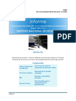 Informe de Nuevas Infraestructuras Birf Instituto Nacional Suchitoto