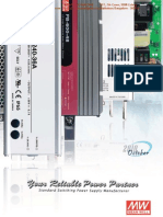 Meanwell Power Supply, Smps Catalog Oct-10 From Manav Automation