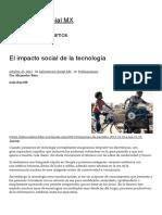 El Impacto Social de La Tecnología _ Laboratorio Social MX