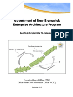 New Brunswick Enterprise Architecture Manual