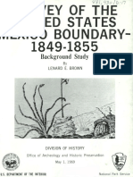 Brown Leonard 1969_Survey of US Mexico Boundary